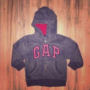 Toddler Gap Zip Front Hoodie